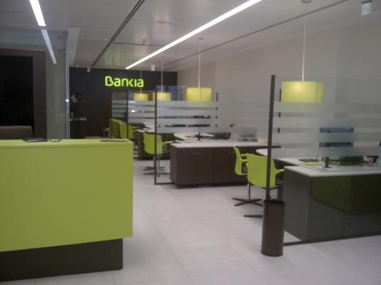 Proyectos de oficinas sucursales bancarias bankia asestel instalaciones el ctricas en madrid - Bankia oficina movil ...